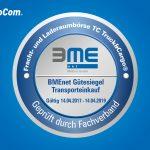Знак качества «Транспортные закупки»: BMEnet вручает биржу грузов TimoCom