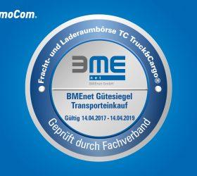 BMEnet вручает награду TimoCom за «Транспортные закупки»