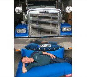 Германия: запрет проведения регулярного еженедельного отдыха в кабине грузовика